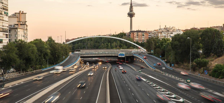 Información sobre Circulación de Camiones en Madrid